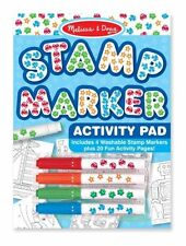 Melissa & Doug Stamp Marker Activity Pad Blue (2422)