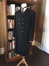 Victorian Era Full Length Coat Wool 40R