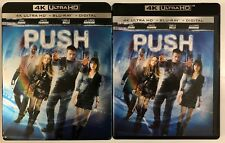 PUSH 4K ULTRA HD BLU RAY 2 DISC SET + SLIPCOVER SLEEVE FREE WORLD SHIPPING