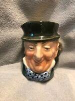 "Mr. Micawber, D6138, H:2.25 (Mini)"", Vintage Royal Doulton Character Mug"
