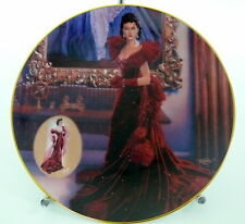 Gone With The Wind The Red Dress Bradford Exch. Collector Plate 1993 17302D Md