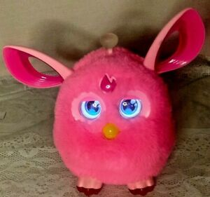 FURBY Connect Pink 2016 Hasbro Interactive Bluetooth Smart Toy WORKS no glasses