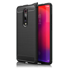 NALIA Handyhülle für Xiaomi Mi 9T / 9T Pro Hülle, Carbon Look Silikon Case Dünn