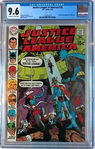 Justice League of America #78 CGC 9.6 1st Silver Age Vigilante!KEY ISSUE!L@@K!