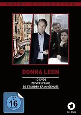 DONNA LEON COLLECTION,FOLGE 1-20 10 DVD NEU