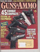 Magazine GUNS & AMMO August 1993 !!! SMITH & WESSON Victory Model  REVOLVER !!!