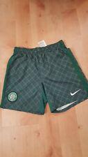 CELTIC FC Football Shorts tartan green Running Swimming Trunks boys age 8-10