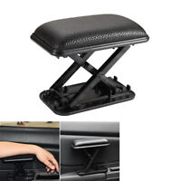 PU Leather Car Armrest Pad Elbow Rest Thickened Cushion  Left Hand Pad Universal