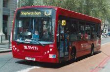 BUS PHOTO, TRAVEL LONDON PHOTOGRAPH PICTURE, DENNIS ENVIRO 200 8101