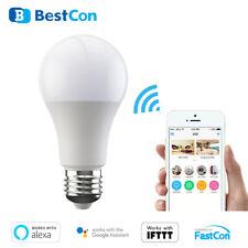 Smart APP Home Wifi Light Bulb Dimmable LED E27 Lamp Voice Work Alexa / Google