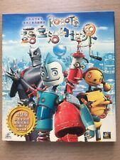 Robots 露寶治的世界 + Monster House 魔怪屋 2套VCD集一同出售 兩套完全不同風格的動畫,但非常適合由兒童成長為青少年時期觀看