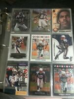Randy Moss 9 Card Lot Minnesota Vikings  New England Patriots