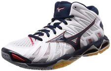 Nuevo Mizuno Voleibol Zapatos Ondulado Tornado X2 Medio V1GA1817 Blanco à Navy X
