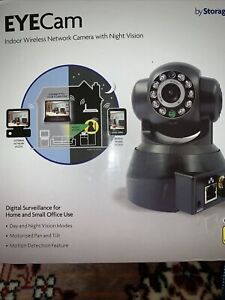 Indoor Wireless Network Camera With Night Vision New Boxed Motorised Pan Tilt