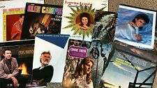 REDUCED to $2 COUNTRY LPs ~ You choose ~ Only 25¢ US shipping after 1st LP
