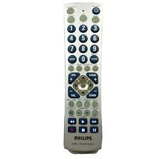 Genuine Philips Universal TV VCR Remote Control CL034 Tested Works