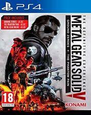 * Playstation 4 Nuevo Sellado Juego * Metal Gear Solid V 5 experiencia definitiva PS4