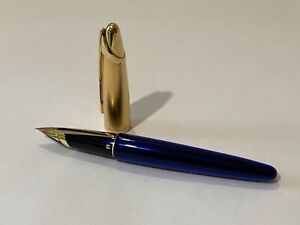 Waterman Edson Blue Sapphire Fountain Pen