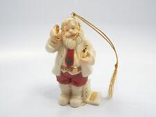 Lenox Christmas Ornament Whimsical Santa.com w/ Computer & Cell Phone, w/ box