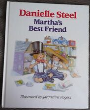 DANIELLE STEEL ~ MARTHA'S BEST FRIEND 1990 Lge HC 1st Edition