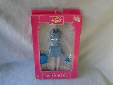 TEEN SKIPPER FASHION AVENUE BLUE OUTFIT W/ SHOES & PURSE DAMAGED BOX 1997 NEW