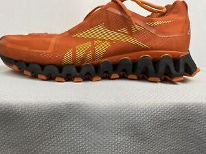 Reebok ZigTech ZigWild TR2 Trail Running Shoes Grey Men's Size 12 Orange