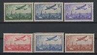 i129296/ FRANCE / AIRMAIL / Y&T # 8 / 13 MINT MNH COMPLETE – CV 350 $