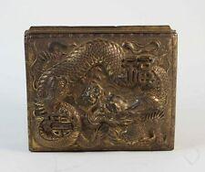 scatola portagioie in metallo  Giapponese