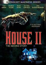 HOUSE II [Two,2] Ethan Wiley*Bill Maher*John Ratzenberger Cult Horror R1 DVD NEW