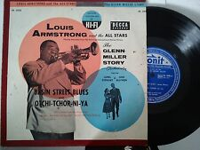 LP 25 cm LOUIS ARMSTRONG AND THE ALL STARS-BASIN STREET BLUES + 4