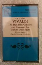 Vivaldi Mandolin Concerti MHC 2217 - Cassette, Tape - New, Sealed