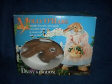 NEW Daisy Kingdom Molly O'Hare rabbit doll kit sewing craft kit ceramic head