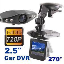 "2.5"" TFT LCD Screen HD Portable Car DVR 6 IR LED Audio Camera video Recorder"