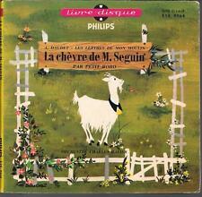 """LIVRE DISQUE--LA CHEVRE DE M.SEGUIN--PETIT BOBO """"ALPHONSE DAUDET"""""""