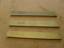 3X NEW LOWER KNIVES TO SUIT INDUSTRIAL YAMATO Z6000H  OVER LOCK PART NO Y22195