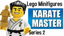 LEGO Series 2 Minifigures (8684) - Karate Master - New - Factory Sealed Unopened
