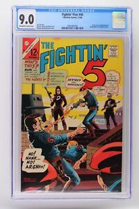 Fightin' Five #40 - Charlton 1966 CGC 9.0 Origin and 1st Appearance of Peacemake