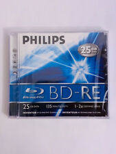 Philips BD-RE 25GB 2x Speed 135 Min HDTV Single Pack New Sealed! BE2S2J01F/17