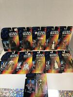 1995 Star Wars Power of the Force Red Card 11 Action Figure Lot POTF
