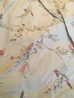 dunelm dove grey double quilt cover beautiful birds pillowcases 200x 200cm