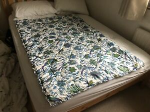 Vintage Retro Jonelle 70's/80's  Single Bedspread Throw, Padded Floral Lovely!!!