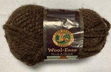 Wool Ease wool-ease thick /& quick gemstone color 304 brown taupe silver accent