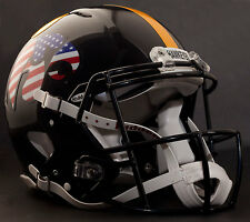 "IOWA HAWKEYES ""ANF/FLAG"" NCAA Riddell SPEED Full Size Replica Football Helmet"