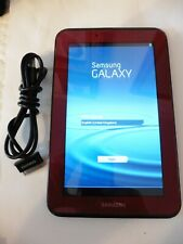 Samsung Galaxy Tab 2 GT-P3110, 8GB, 7 Inch - Red Wifi Tablet Has been reset