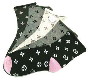 5 Paar Damen Sneaker Diabetiker Socken ohne Gummibund Strümpfe #78