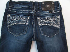 Women's Miss Me JE5365SL Skinny Jeans Dark Wash Low rise size 25 x 32.5