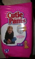 Toddler Training Pants Cutie Pants Pull On 4T 5T - 19 ea