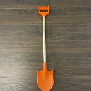 American Plastic Toys Inc. Orange Wooden Shovel with Handle