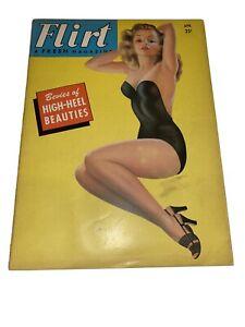 Flirt Magazine April 1954 High Heels Billy DeVorss Pinups
