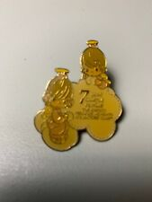 Precious Moments 7 Year Charter Member Pin-The Precious Moments Collectors Club